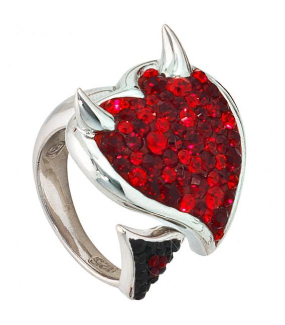 Damen Ring Teufel Teufelsherz - 4053258100356