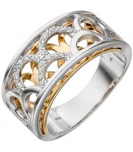 Damen Ring breit 925 - 4053258331354