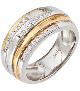 Damen Ring breit 925 - 4053258100134