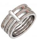 Damen Ring breit 925 - 40656