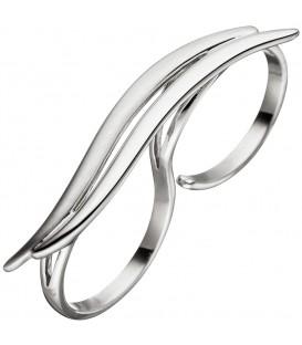 Damen Ring Zweifingerring 925 - 4053258316795