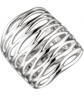 Damen Ring breit 925 - 4053258297889