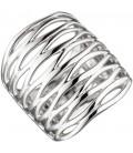 Damen Ring breit 925 - 45381