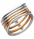 Damen Ring breit mehrreihig - 46306