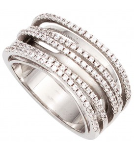 Damen Ring breit 925 - 4053258267622