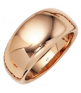 Damen Ring breit Edelstahl - 40994