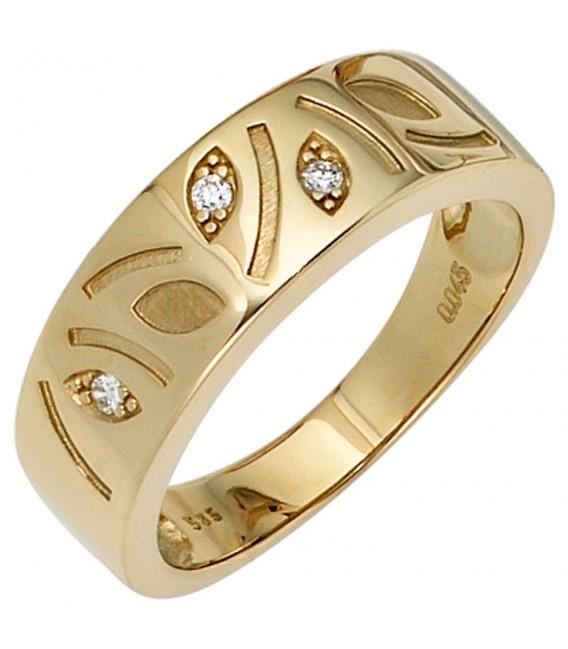 Damen Ring 585 Gold - 4053258233368