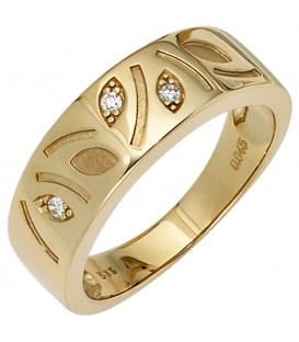 Damen Ring 585 Gold - 4053258233368