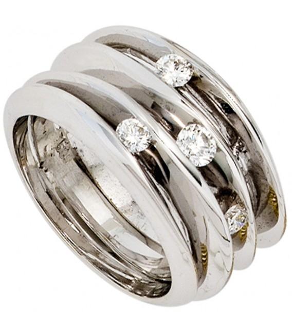 Damen Ring breit 585 - 4053258231807