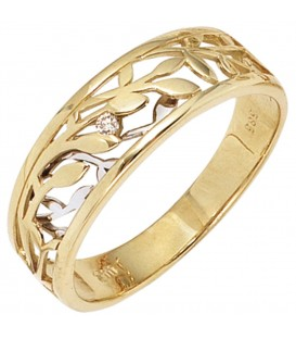 Damen Ring 585 Gold - 4053258232941