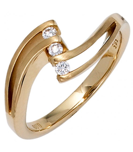 Damen Ring 585 Gold - 4053258044728