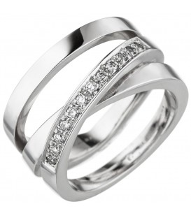 Damen Ring verschlungen 585 - 4053258344644