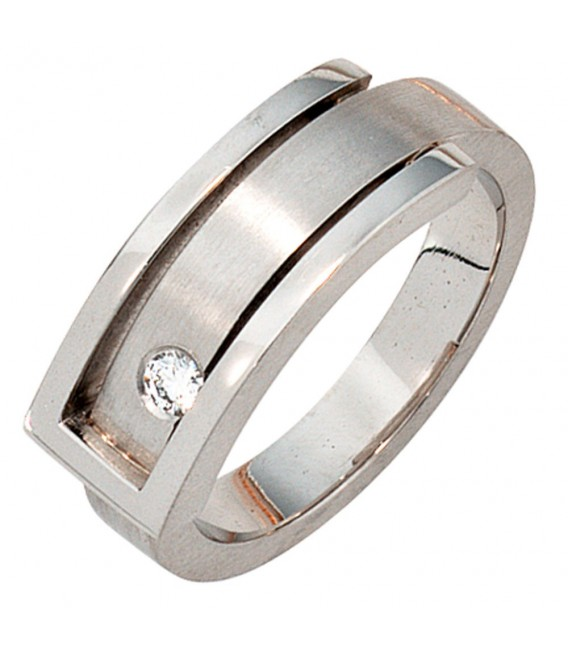 Damen Ring 950 Platin - 4053258043165