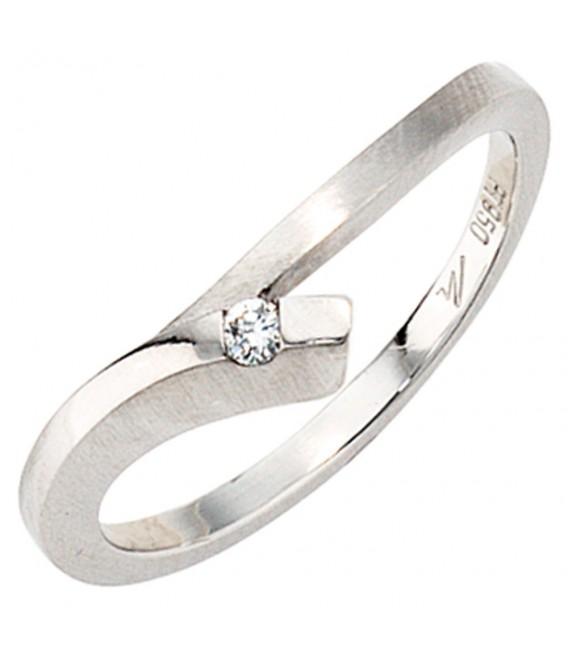 Damen Ring 950 Platin - 4053258043356