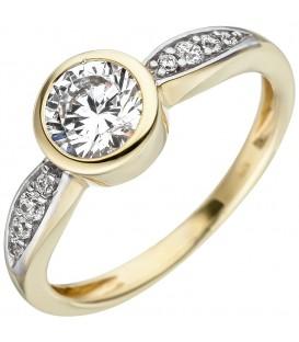 Damen Ring 375 Gold - 4053258331873