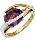 Damen Ring 585 Gold - 39745