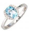 Damen Ring 585 Gold - 36102