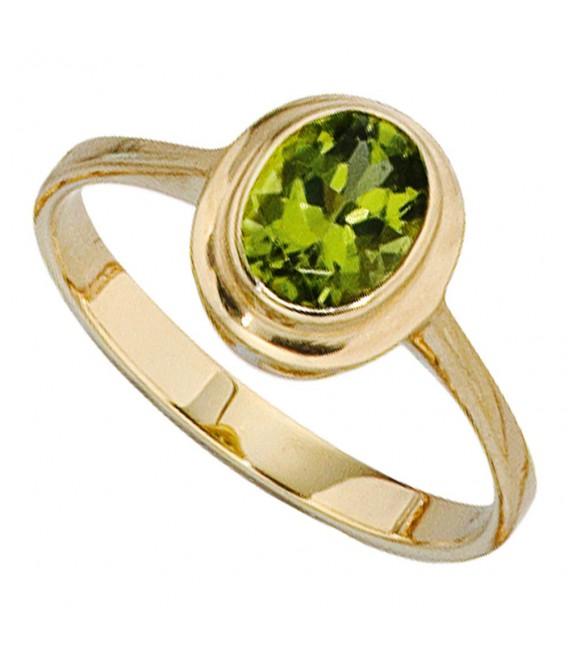 Damen Ring 585 Gold - 4053258053362