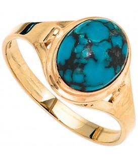 Damen Ring 585 Gold - 4053258235348