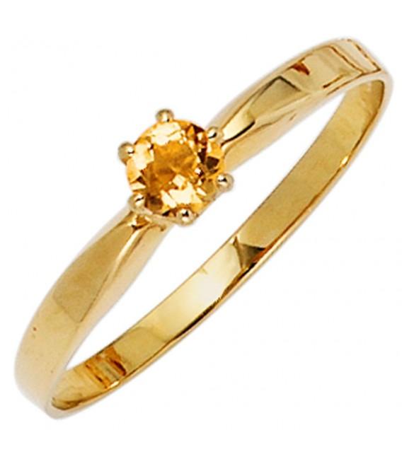 Damen Ring 585 Gold - 4053258234389