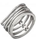 Damen Ring breit mehrreihig - 46300