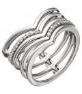 Damen Ring breit mehrreihig - 46299