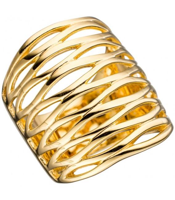 Damen Ring breit 925 - 4053258297926