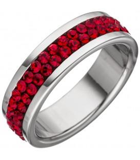 Damen Ring Edelstahl mit - 4053258326541