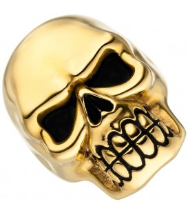 Damen Ring Totenkopf Schädel - 4053258339855