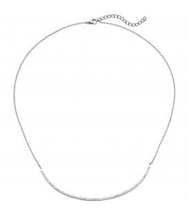 Collier Halskette Kette mit Anhänger aus Edelstahl - Bild 1 Produktbild
