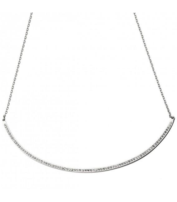 Collier Halskette Kette mit Anhänger aus Edelstahl - Bild 2