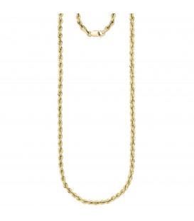Kordelkette 375 Gold Gelbgold