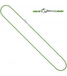 Rundankerkette Edelstahl grün lackiert 50 cm - Bild 1