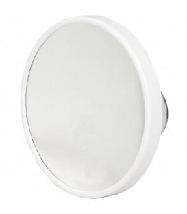 Pfeilring Kosmetikspiegel weiß 10-fach Vergrößerung Saugnäpfe - Bild 1