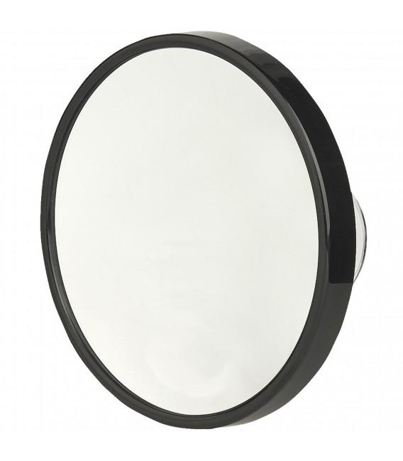 Pfeilring Kosmetikspiegel schwarz 10-fach Vergrößerung Saugnäpfe - Bild 1 Zoom