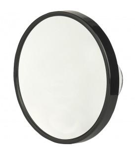 Pfeilring Kosmetikspiegel schwarz 10-fach Vergrößerung Saugnäpfe - Bild 1