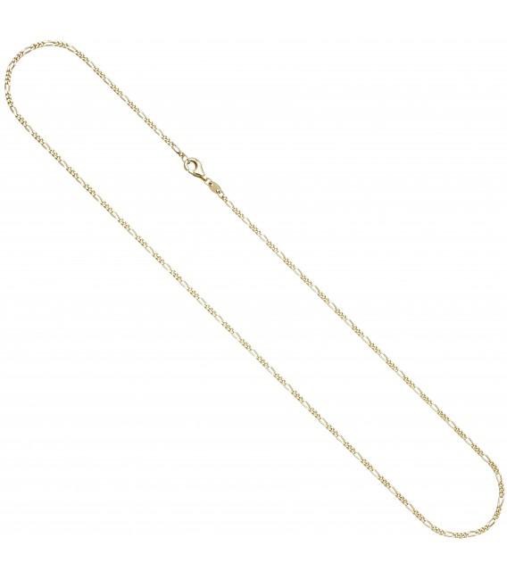 7 mm 45 cm Kette Halskette Goldkette Zoom