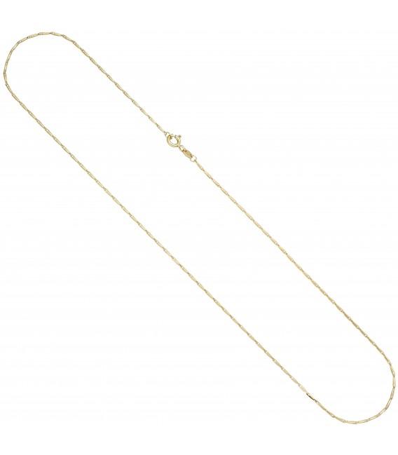 2 mm 50 cm Kette Halskette Goldkette Zoom