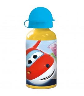 SUPERWINGS Kinder Trinkflasche aus Aluminium 400 ml - Bild 1 Produktbild