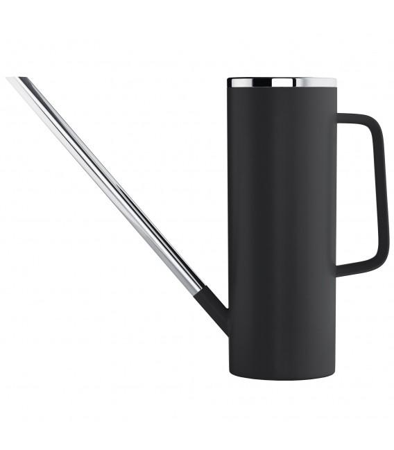 Blomus Gießkanne LIMBO Kunststoff schwarz mit Edelstahl kombiniert 1