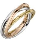 Damen Ring verschlungen 925 - 51129