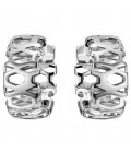 Creolen breit 925 Sterling Silber - 51793