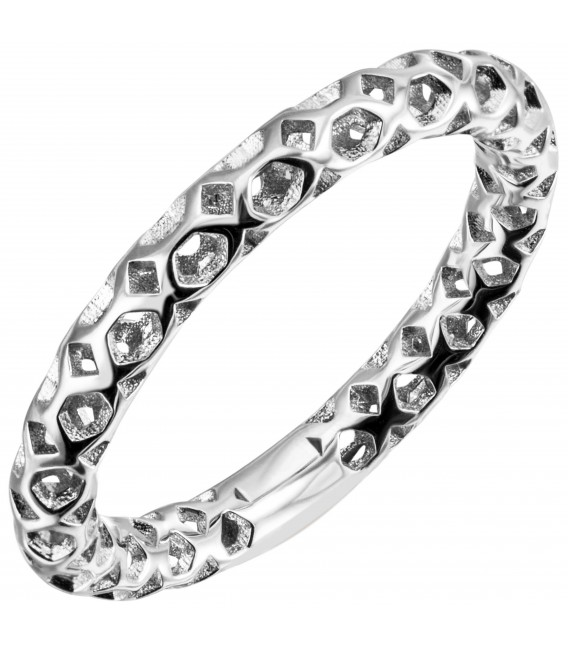 Damen Ring 925 Sterling Silber Silberring - Bild 1