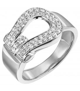Damen Ring 925 Sterling Silber 55 Zirkonia Silberring - Bild 1