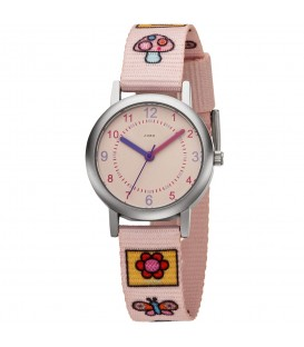 JOBO Kinder Armbanduhr Quarz Analog Kinderuhr rosa - Bild 1