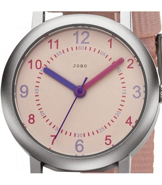 JOBO Kinder Armbanduhr Quarz Analog Kinderuhr rosa - Bild 2