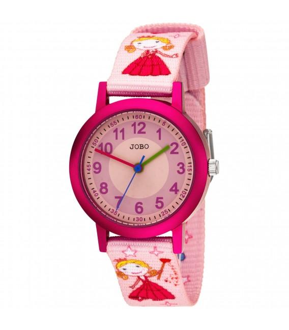 JOBO Kinder Armbanduhr Quarz Analog Aluminium Kinderuhr - Bild 1