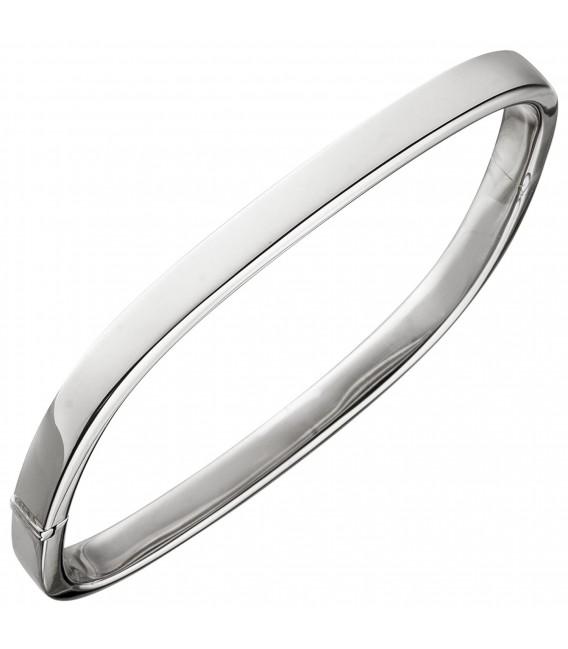 Armreif Armband eckig 925 Sterling Silber Silberarmband - Bild 1